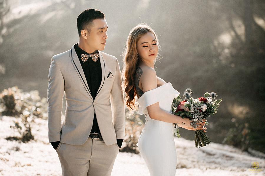Album cưới đẹp Đà Lạt: Có một không gian lãng mạn