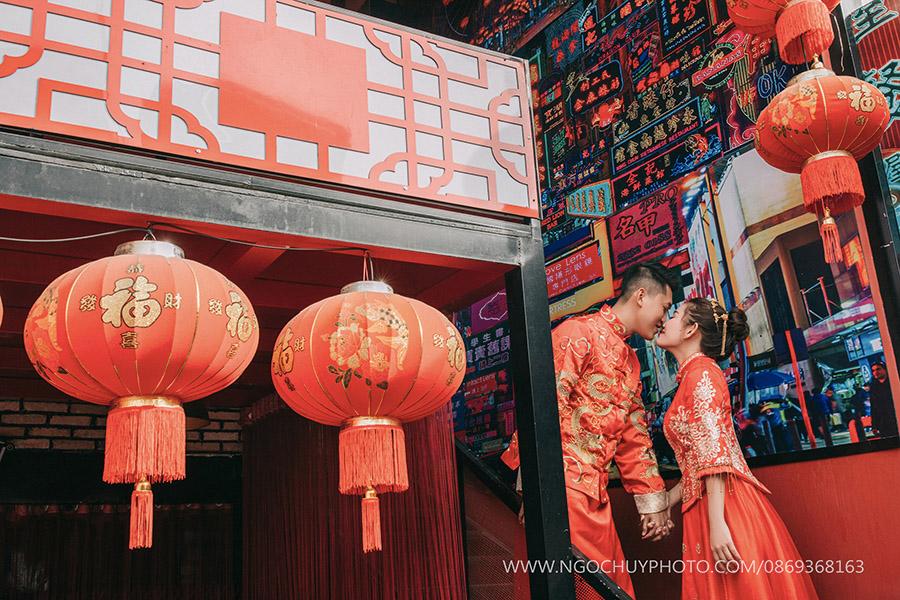 Ảnh cưới mang phong cách Cổ trang Trung Quốc