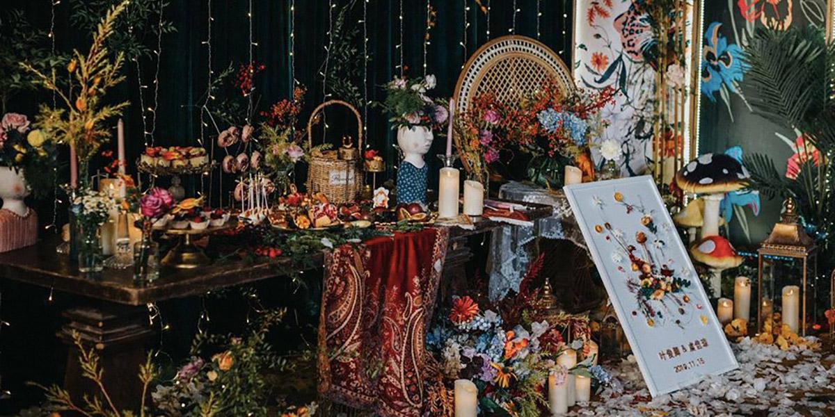 Trang trí tiệc cưới phong cách Cổ tích