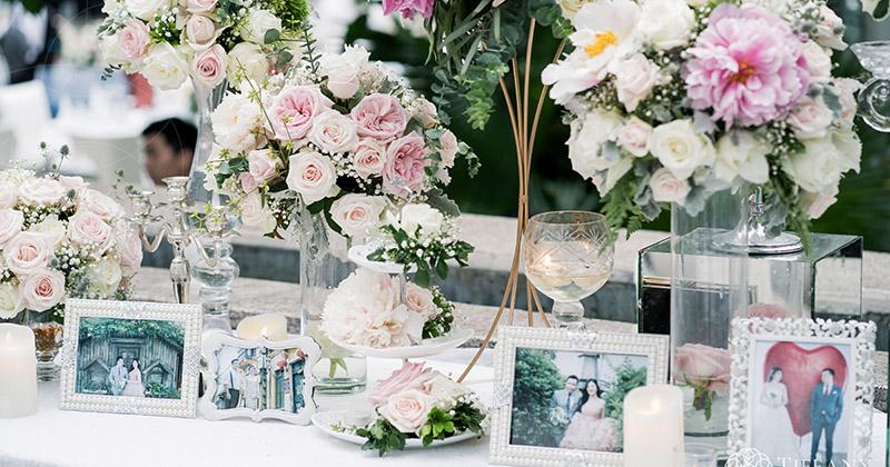 Những ý tưởng tuyệt với cho đám cưới của cô nàng thích màu hồng