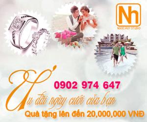 Ưu đãi ngày cưới của Bạn - Quà tặng giá trị lên đến 20 triệu