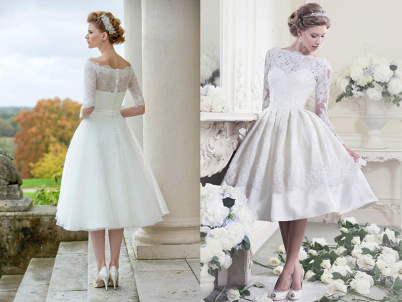 Váy cưới ngắn - Lựa chọn số 1 cho cô dâu trong hôn lễ ngày hè