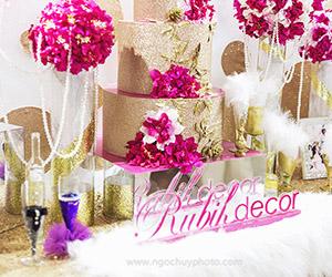 Xu hướng trang trí bàn đón khách trong tiệc cưới 2015