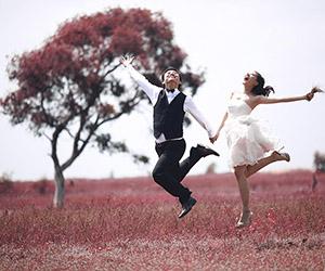 Ý tưởng chụp hình cưới bay