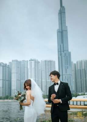 Album cưới Ngoại cảnh TPHCM
