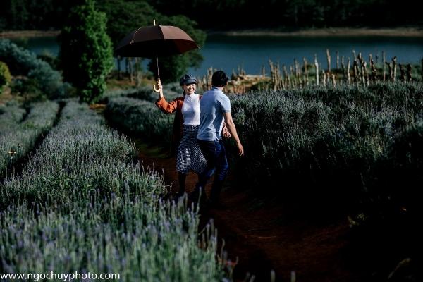 Chụp hình cưới ngoại cảnh Đà Lạt đẹp