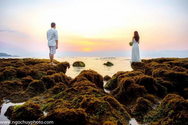 Chụp ảnh cưới đẹp tại Hồ Cốc
