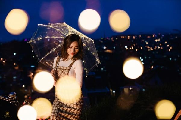 Chụp hình cưới buổi đêm đẹp tại Đà Lạt