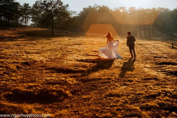 Chụp hình cưới trọn gói tại Đà Lạt