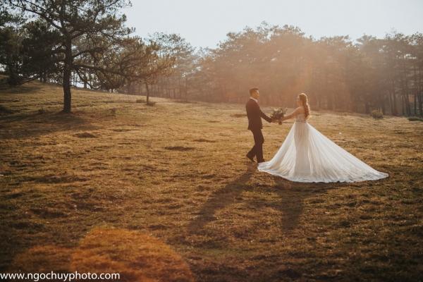 Chụp ảnh cưới Đà Lạt đẹp lung linh