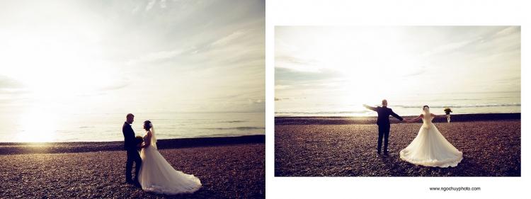 Ảnh cưới ngoại cảnh biển