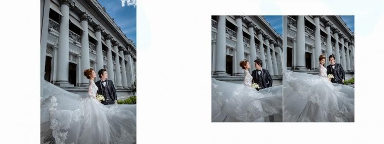 Ảnh cưới đẹp bảo tàng thành phố
