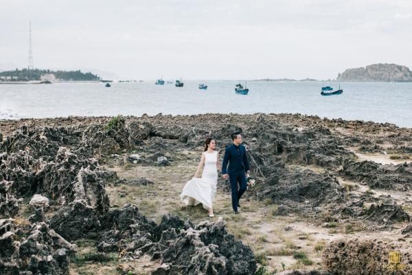 Góc chụp ảnh cưới đẹp tại Phan Rang