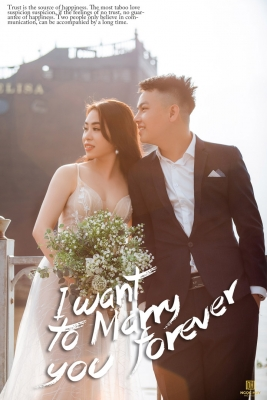 Ảnh cưới đẹp Sài Gòn phong cách Hàn Quốc