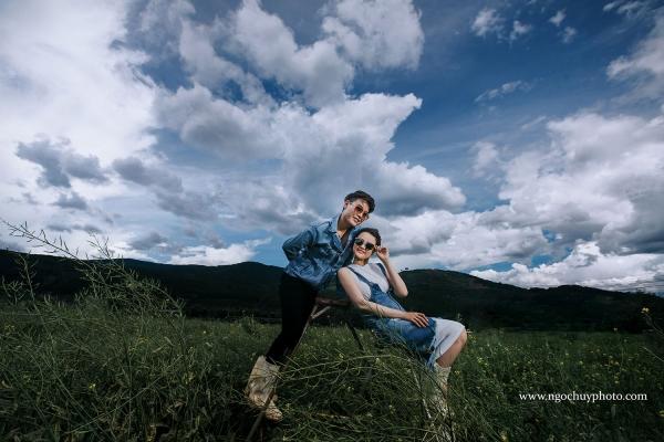 Ảnh cưới ngoại cảnh Đà Lạt