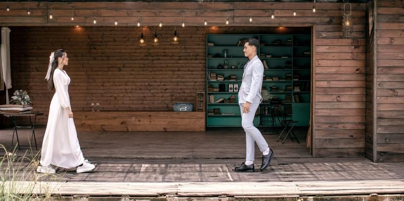 Album cưới phim trường Rustic: Xu hướng ấn tượng không thể bỏ qua