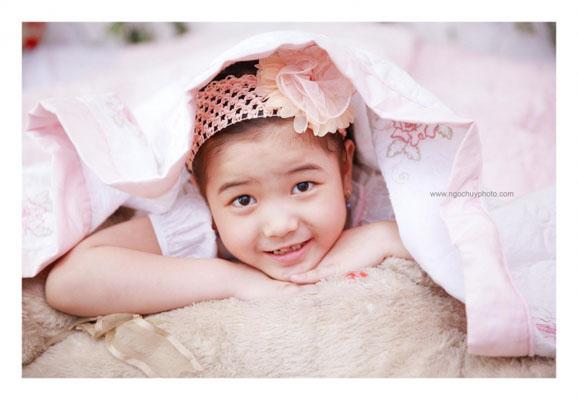 Chụp ảnh em bé tại Phim trường Ngọc Huy