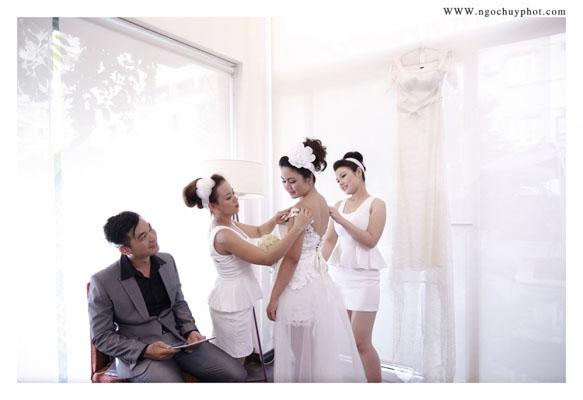 Chụp hình cưới phóng sự