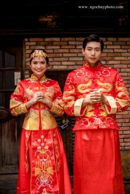 Chụp ảnh cưới mùa xuân đẹp