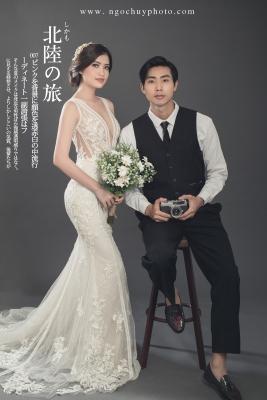 Chụp hình cưới đẹp ở Sài Gòn