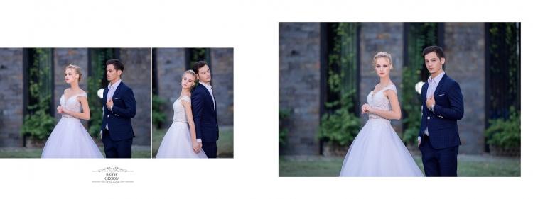 Ảnh cưới phim trường Long Island
