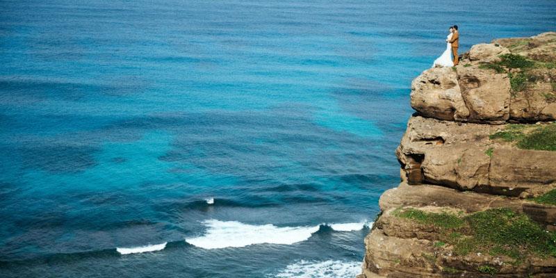Xu hướng ảnh cưới ngoại cảnh biển