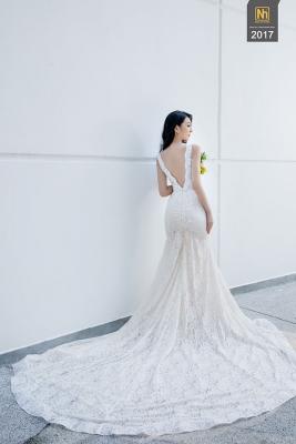 Xu hướng áo cưới đẹp 2017